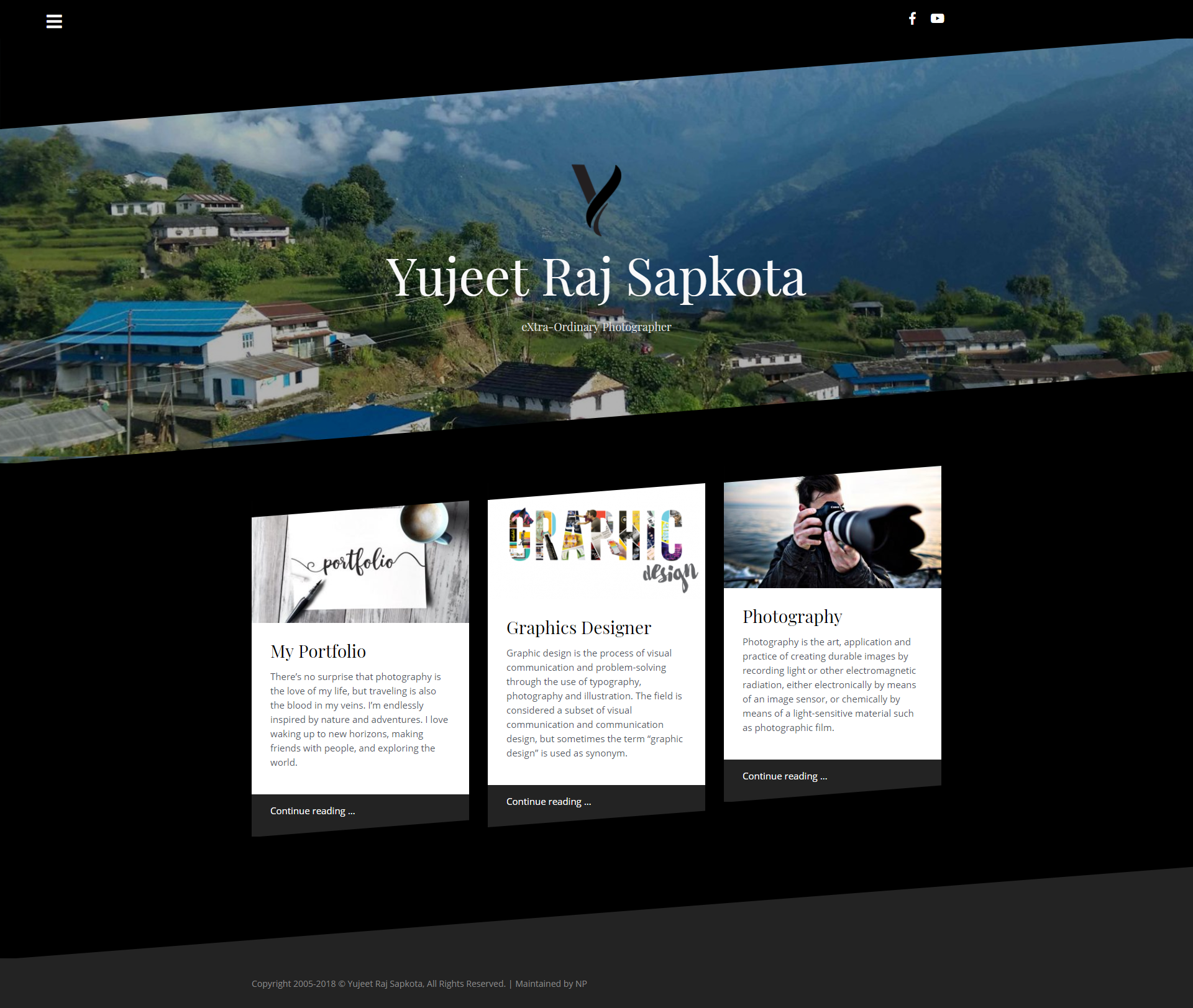 Yujeet's Personal Website